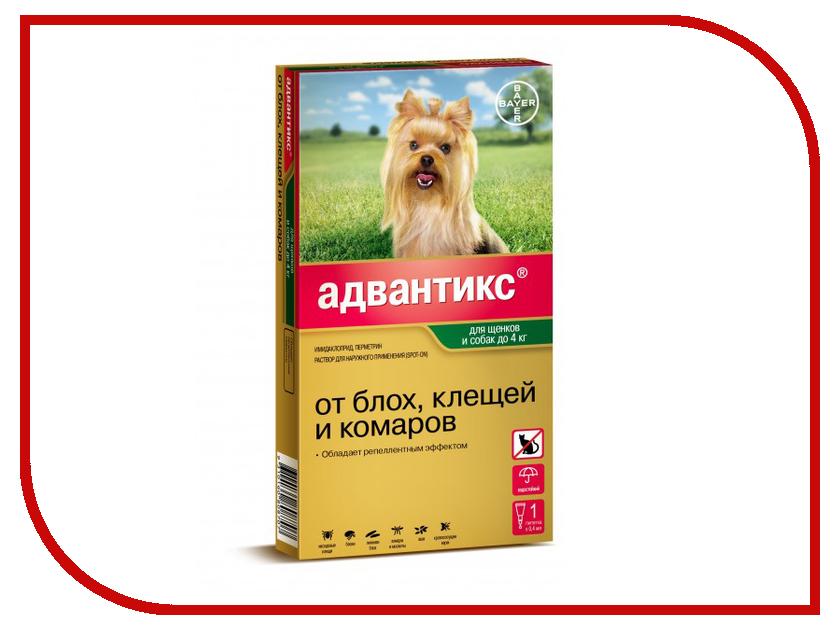 Bayer GL Адвантикс 40С капли для щенков и собак до 4kg 01.09.2019 85209957