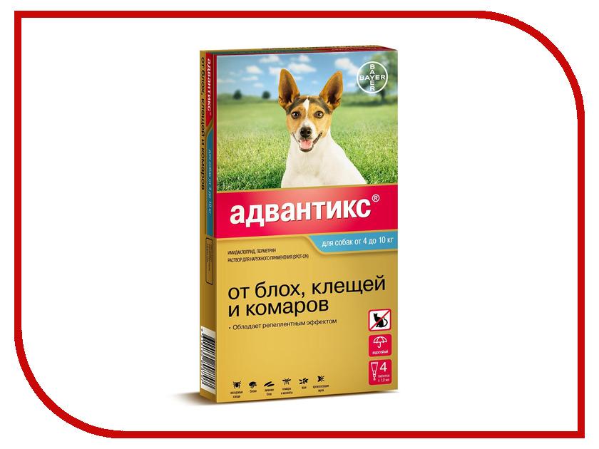 Bayer GL Адвантикс 100С капли для собак от 4 до 10kg 01.2019 84289736