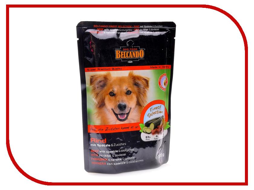 Корм BelcandO Говядина с лапшой и цуккини 125g для собак 511614-51161501