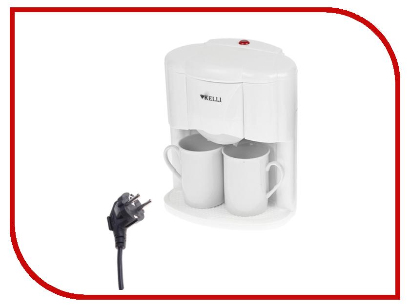 Кофеварка Kelli KL-1491 White кофеварка kelli kl 1444 белый