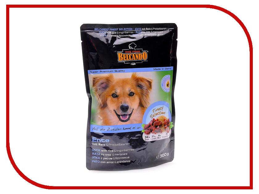 Корм BelcandO Утка с рисом и брусникой 125g для собак 511607-51160501