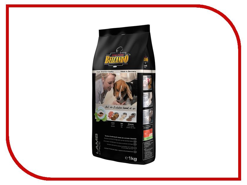 Корм BelcandO Ягненок Рис 1kg Гипоаллергенный корм для собак 553904-553905 корм для собак хиллс d d при аллергии утка рис сух пак 5кг