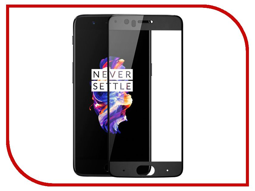 Аксессуар Защитное стекло для OnePlus 5 Zibelino TG Full Screen 0.33mm 2.5D Black ZTG-FS-OnP-5-BLK brand new black lcd display with touch screen for oneplus x e1001 lcd screen digitizer panel free dhl 20pcs 5 0 inch free dhl