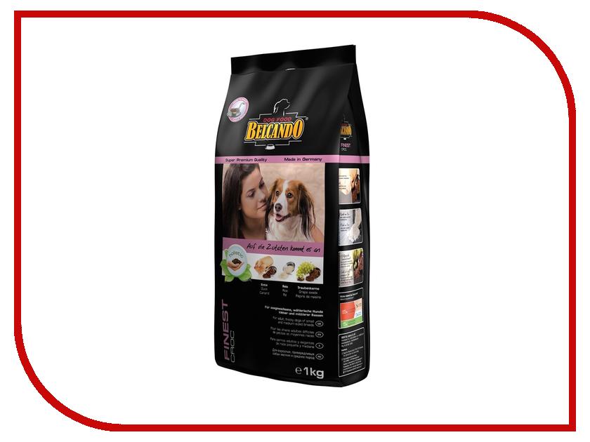 Корм BelcandO Файнест Крок 1kg для привередливых собак мелких и средних пород 553805 сикварц файнест в москве
