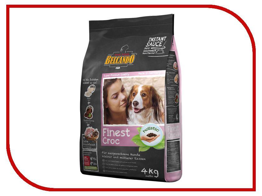 Корм BelcandO Файнест Крок 4kg для привередливых собак мелких и средних пород 553812-553815 сикварц файнест в москве