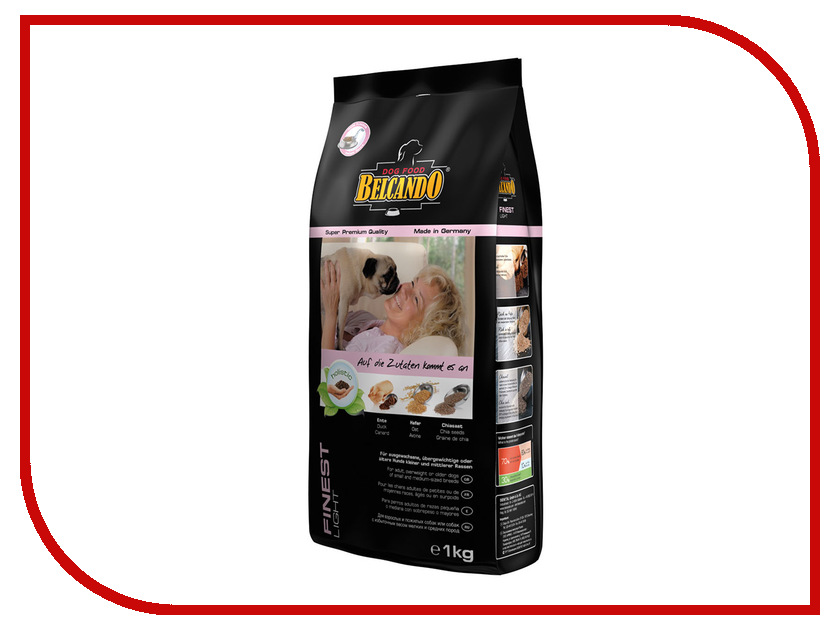 Корм BelcandO Файнест-Лайт 1kg для мелких пород собак 553706-553705 лайт rm4b