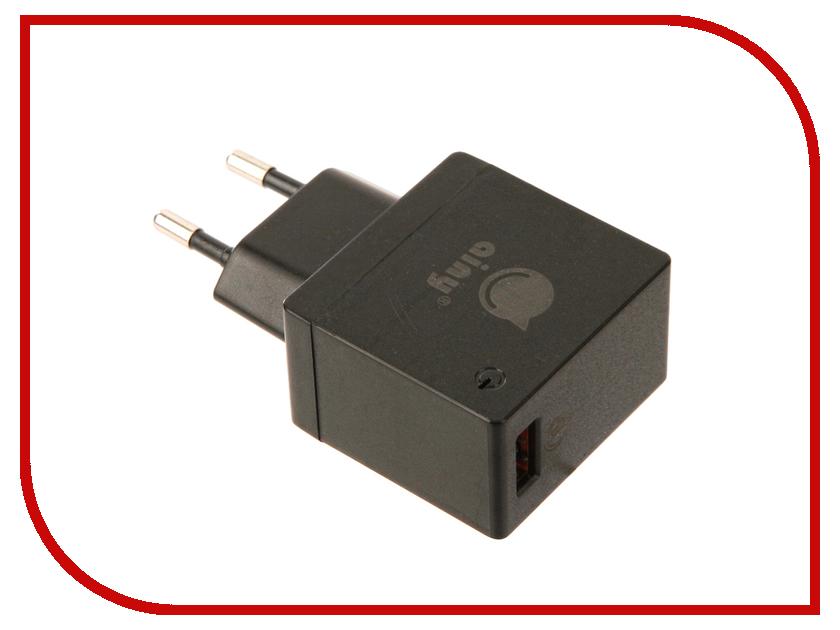 Зарядное устройство Ainy EA-038A Quick Charge 3.0A Black зарядное устройство зарядное устройство сетевое qtek s200 htc p3300 ainy 1a