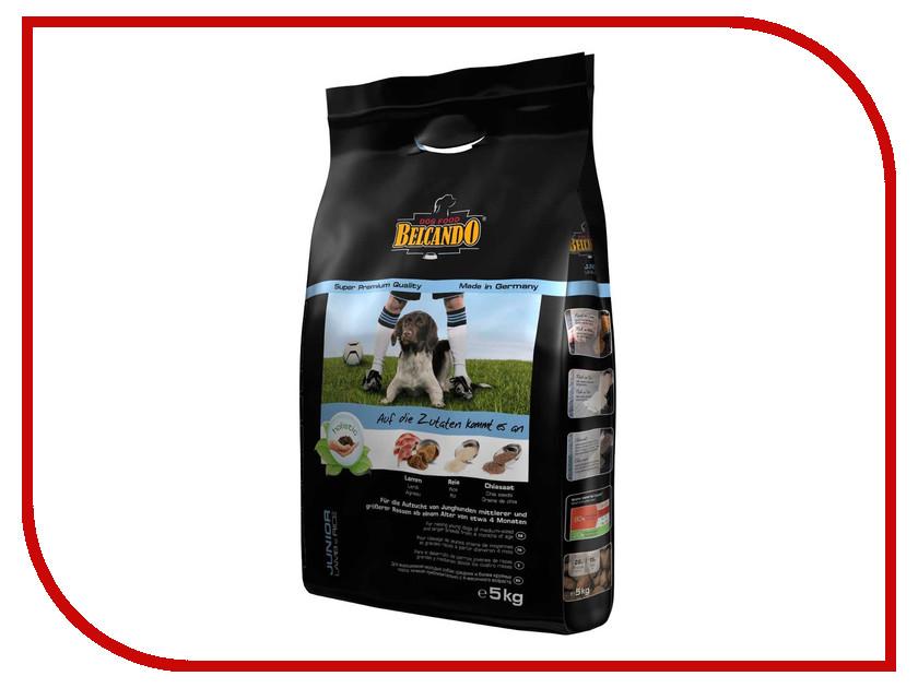 Корм BelcandO Junior Ягненок Рис 5kg для щенков средних и крупных пород от 4-х до 18 месяцев 553119-553115