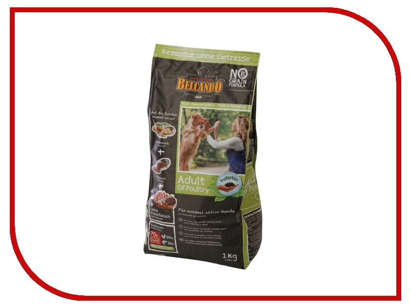 Корм BelcandO Finest Grain-Free Птица 1kg беззерновой корм для собак средних и крупных пород 554406-554405 корм сухой belcando adult multi croc для взрослых собак крупных пород 15 кг