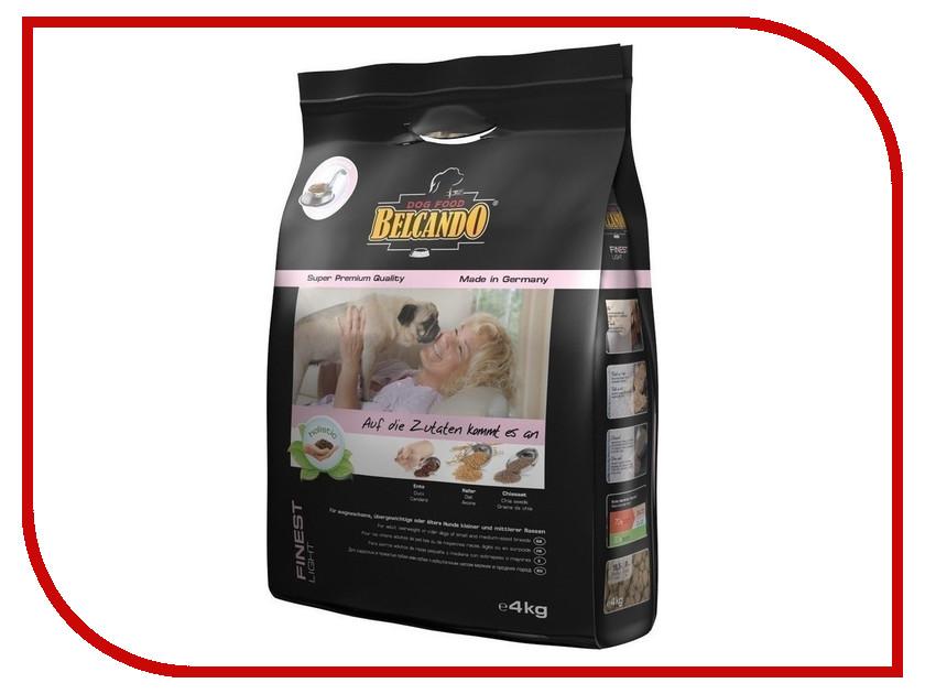 Корм BelcandO Finest-Light 4kg для мелких пород собак 553713-553715 корм сухой belcando adult multi croc для взрослых собак крупных пород 15 кг