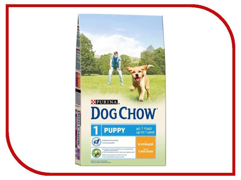 Корм Dog Chow Puppy Ягненок 800g для щенков 12276280 корм dog chow senior ягненок 2 5kg для собак старше 9 лет 12308782