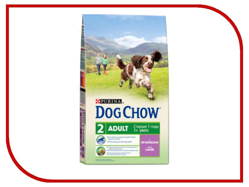 Корм Dog Chow Adult Ягненок 800g для собак 12276249 корм dog chow senior ягненок 2 5kg для собак старше 9 лет 12308782