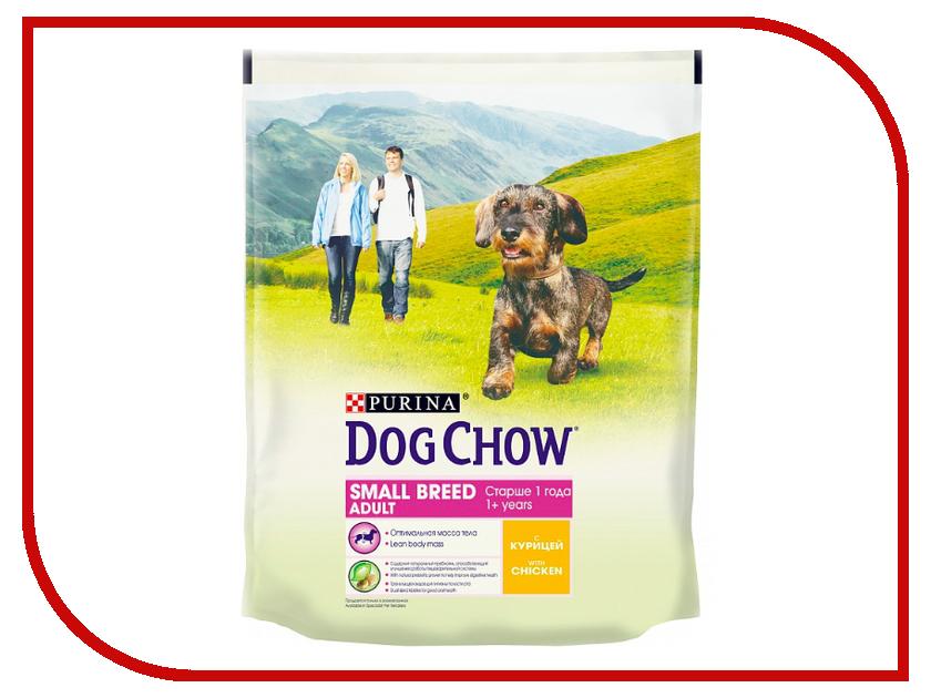 все цены на  Корм Dog Chow Adult Курица 800g для собак мелких пород 12275127  онлайн