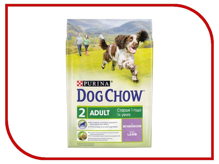 Корм Dog Chow Adult Ягненок 2.5kg для собак старше 1 года 12308783 корм dog chow senior ягненок 2 5kg для собак старше 9 лет 12308782