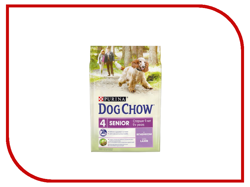 Корм Dog Chow Senior Ягненок 2.5kg для собак старше 9 лет 12308782 корм dog chow senior ягненок 2 5kg для собак старше 9 лет 12308782