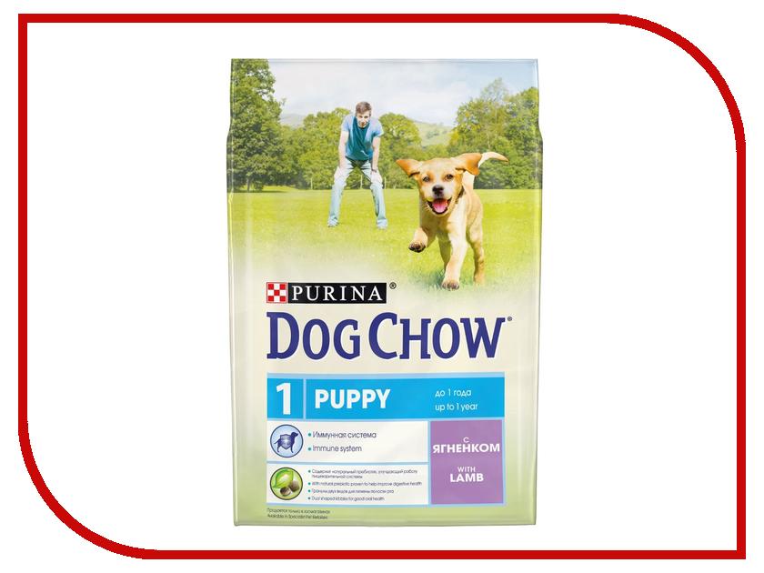 цены на Корм Dog Chow Puppy Ягненок 2.5kg для щенков до 1 года 12308784 в интернет-магазинах