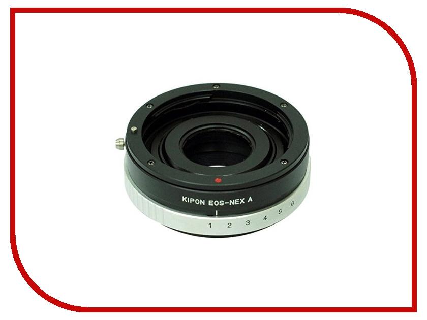 Переходное кольцо Kipon Adapter Ring Canon EOS - NEX with Aperture переходное кольцо dicom nikon canon eos