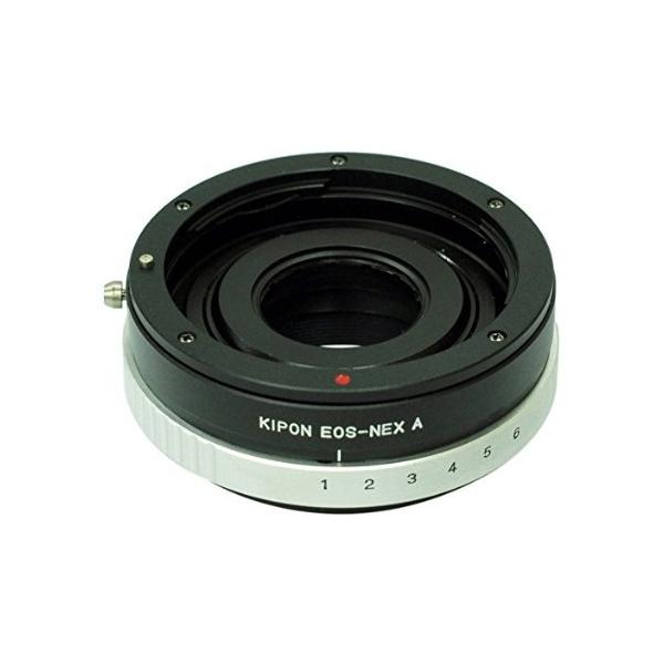Переходное кольцо Kipon Adapter Ring Canon EOS - NEX with Aperture<br>