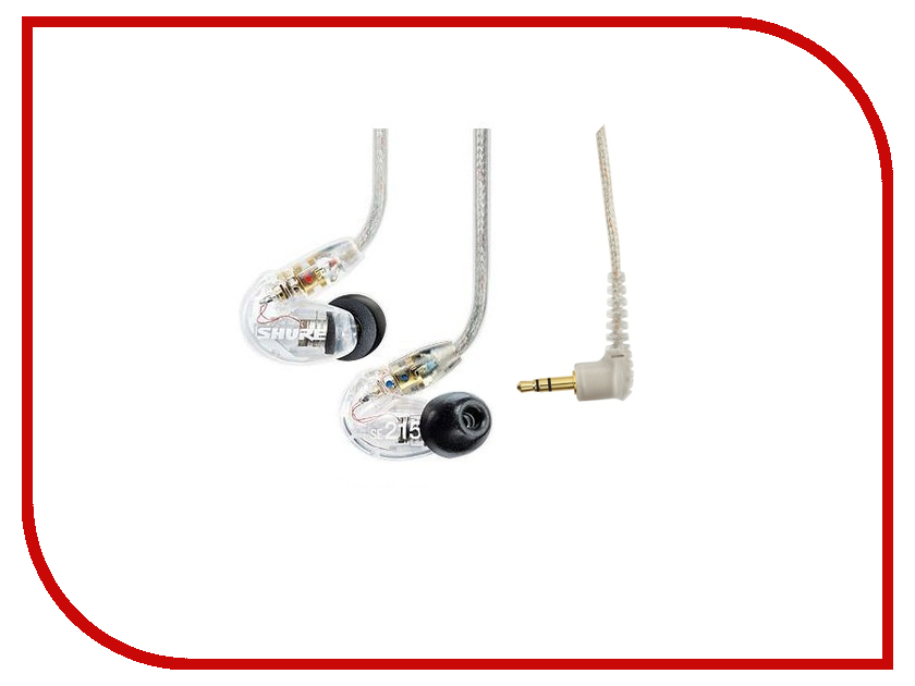 SHURE SE215 CL Clear shure rk265g