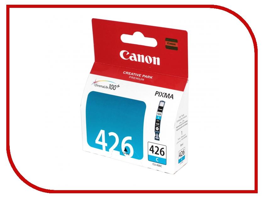 Картридж Canon CLI-426C Cyan 4557B001 картридж для принтера canon 731 cyan