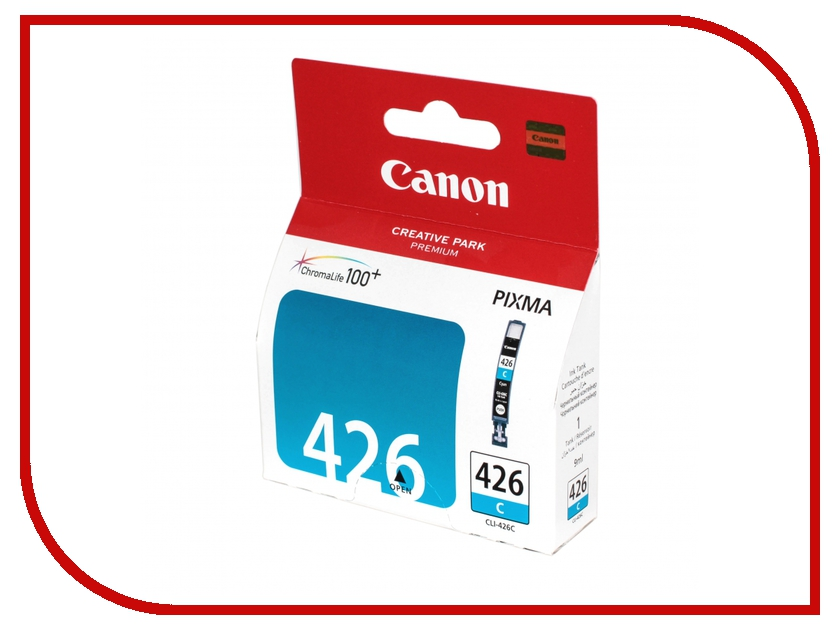 Картридж Canon CLI-426C Cyan 4557B001<br>
