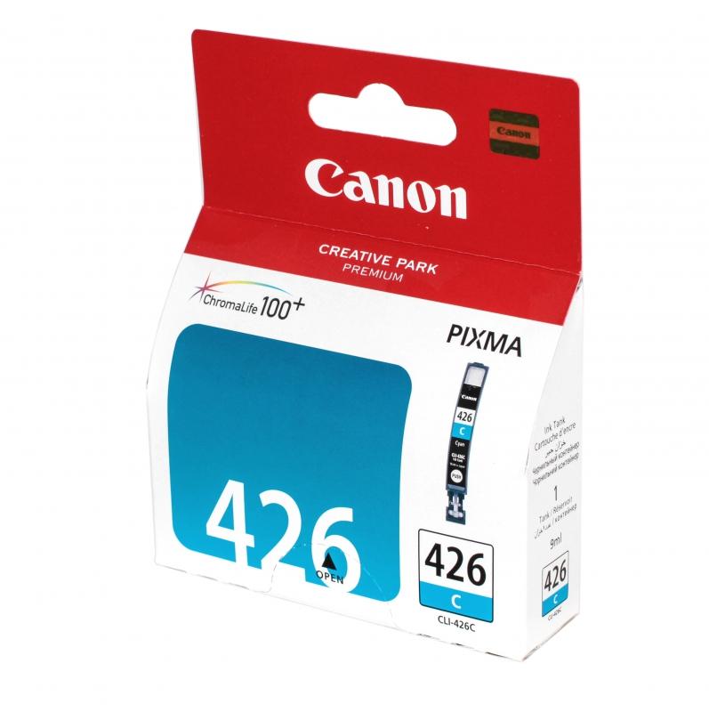 Картридж Canon CLI-426C Cyan 4557B001 цена
