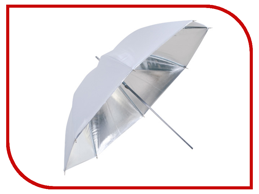 Зонт Falcon Eyes 97cm Umbrella UR-48S Silver<br>