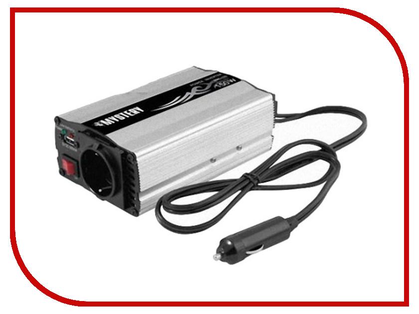 Автоинвертор Mystery MAC-150 (150Вт) с 12В на 220В c USB автоинвертор rolsen rci 500 500вт с 12в на 220в