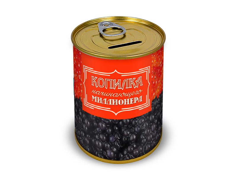 Копилка для денег Canned Money Копилка начинающего миллионера 415645 canned heat canned heat the very best of canned heat