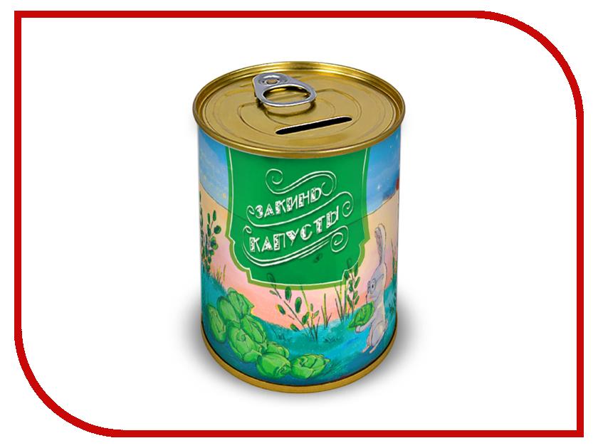 Копилка для денег Canned Money Закинь капусты 415737 gorenje vc 1615 g