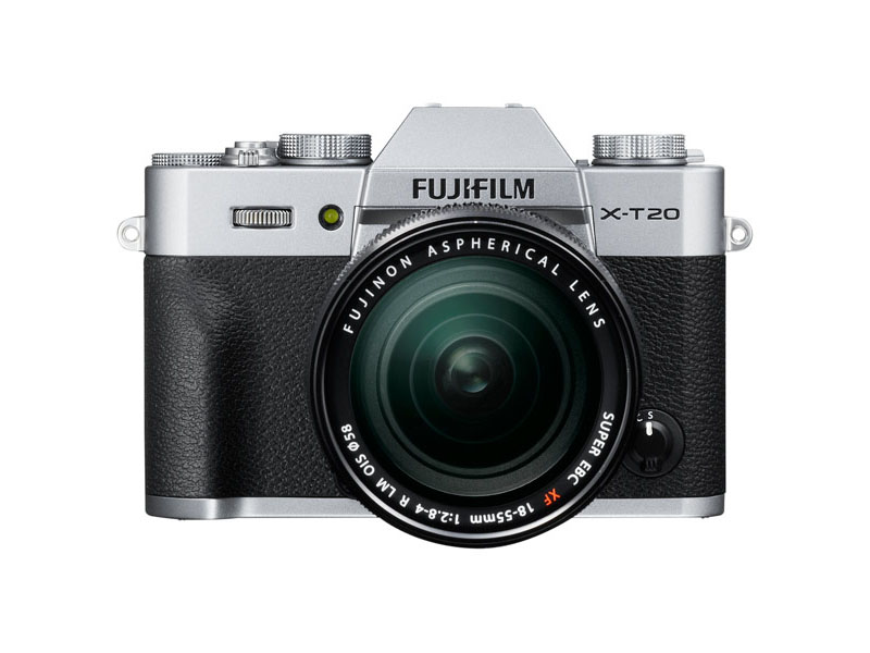 Фотоаппарат Fujifilm X-T20 Kit 18-55 mm Silver