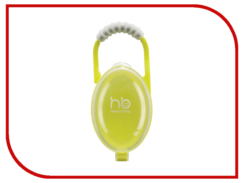 Контейнер для пустышки Happy Baby Pacifier Contaner 11005 Lime