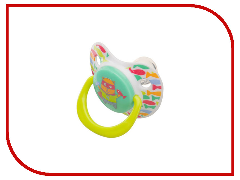 Соска пустышка Happy Baby Baby Soother Cat 13008