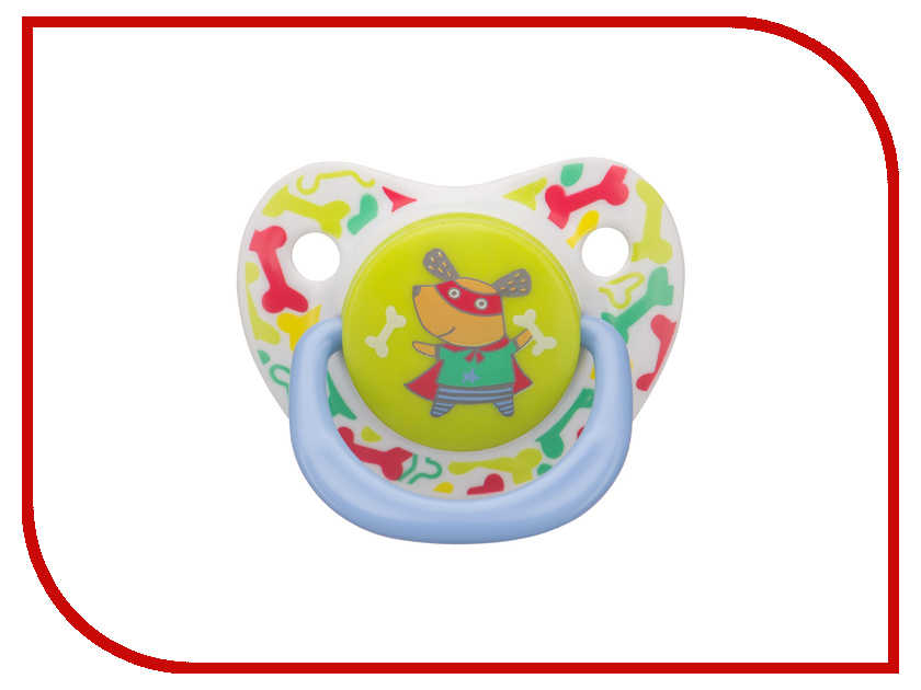 Соска пустышка Happy Baby Soother Natural Dental Dog 13008/1