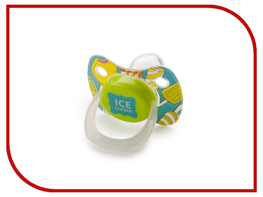 Соска пустышка с колпачком Happy Baby Pacifier Blue 13010