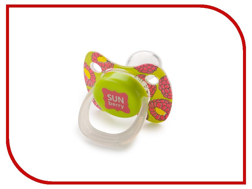 Соска пустышка с колпачком Happy Baby Pacifier Lime 13010