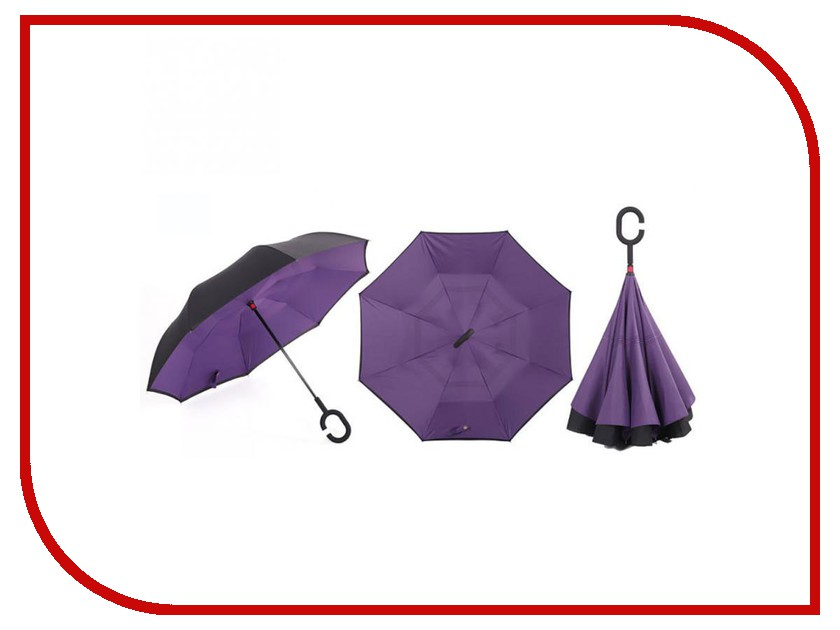 Зонт Зонт Наоборот Purple зонт зонт наоборот flower pink