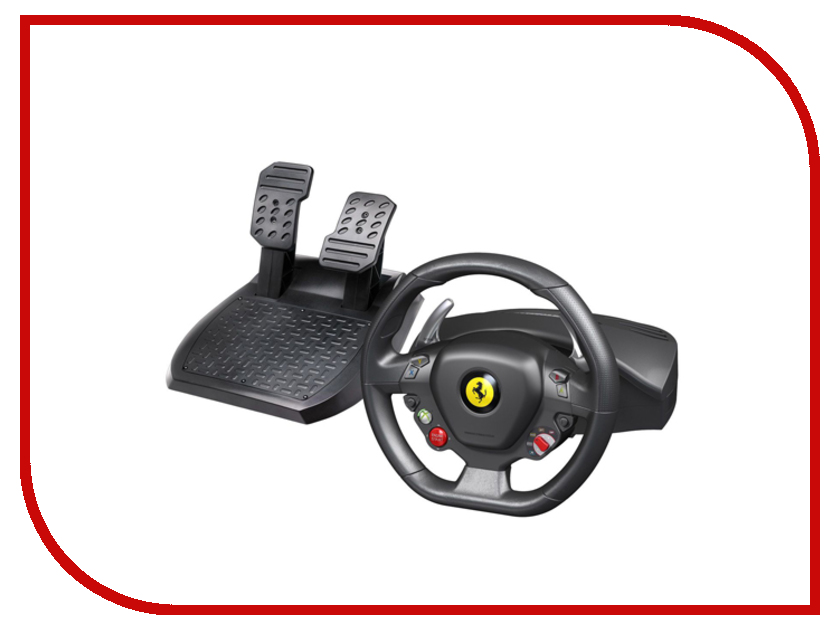 Руль Thrustmaster Ferrari 458 Italia Racing Wheel PC/XBOX 360 руль thrustmaster tx rw leather edition eu xbox one pc 4460133