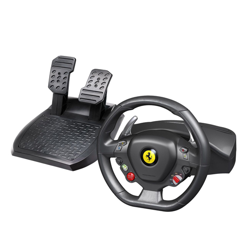Руль Thrustmaster Ferrari 458 Italia Racing Wheel PC/XBOX 360 руль speedlink black bolt racing wheel pc