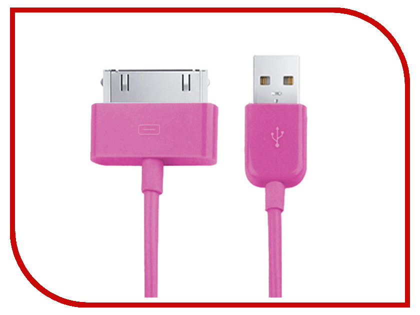 Аксессуар Readyon USB - Lightning 1m Crimson RD-020101