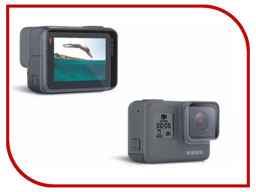 Аксессуар RedLine Защитная пленка на GoPro 5 Black RL431 аксессуар для игровой приставки nintendo switch чехол и защитная пленка