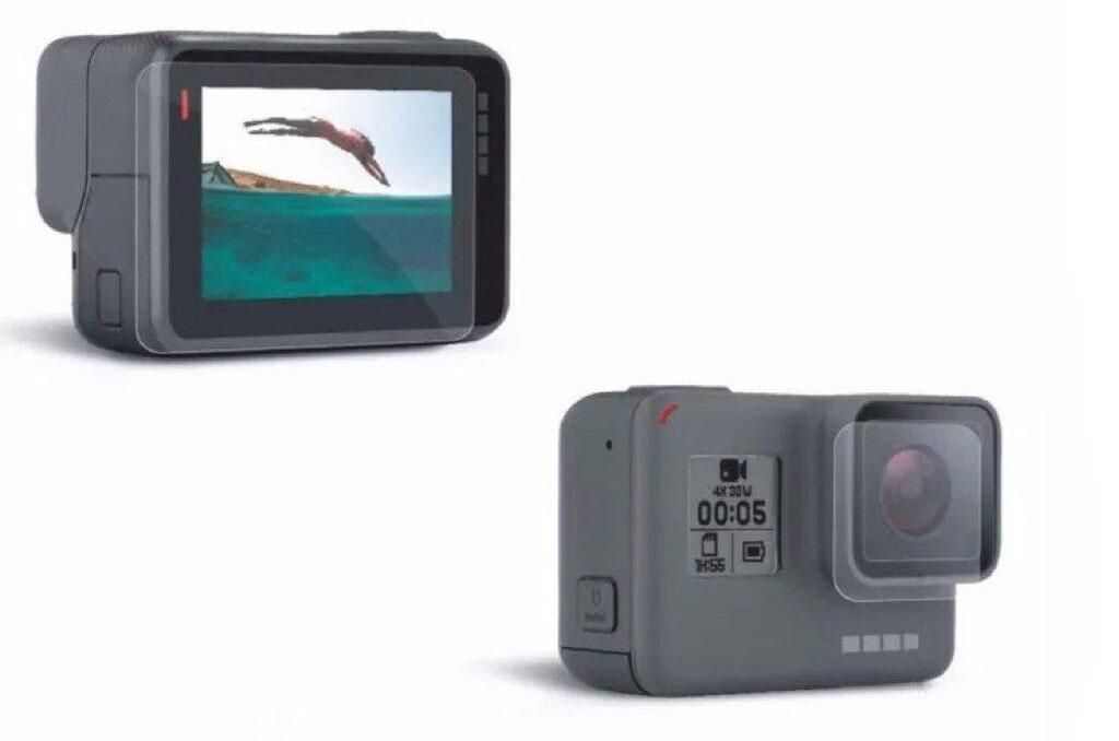 Аксессуар RedLine Защитная пленка на GoPro 5 Black RL431