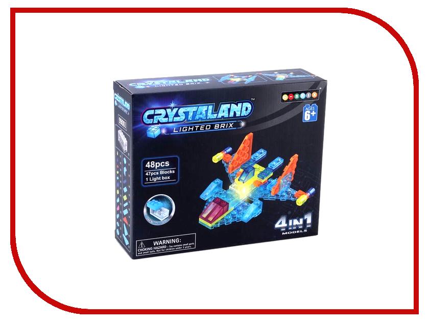 Конструктор Crystaland SHG001 Самолет 4 в 1 48 дет конструктор crystaland shg006 истребитель 4 в 1 67 дет