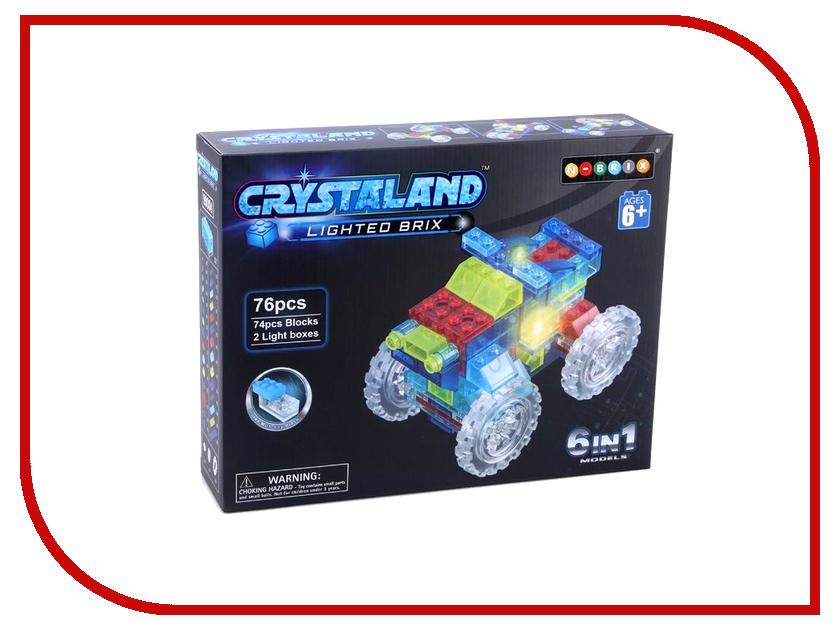 Конструктор Crystaland SHG009 Трактор 6 в 1 76 дет конструктор crystaland shg006 истребитель 4 в 1 67 дет