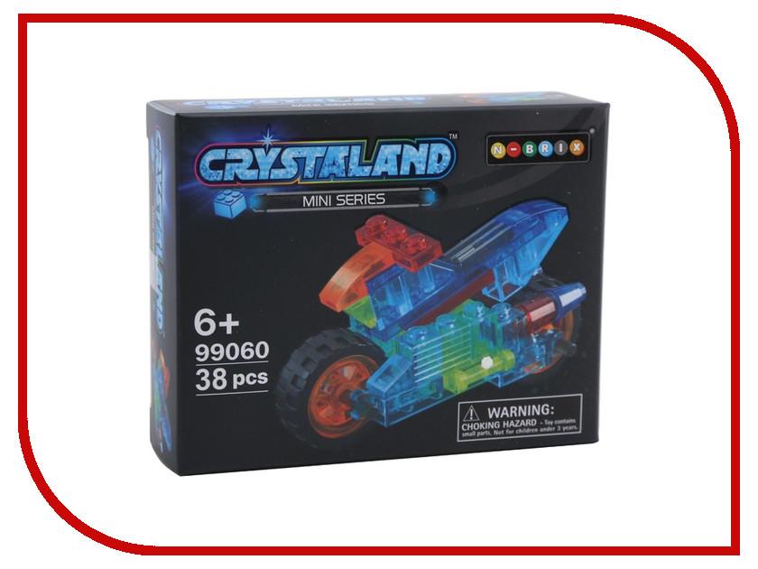 Конструктор Crystaland SHGS003 Мини Мотоцикл 38 дет