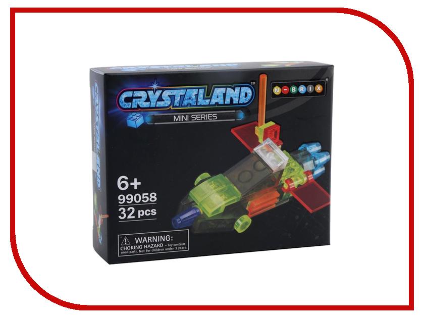 Конструктор Crystaland SHGS005 Беспилотный Самолет 32 дет конструктор crystaland shg006 истребитель 4 в 1 67 дет
