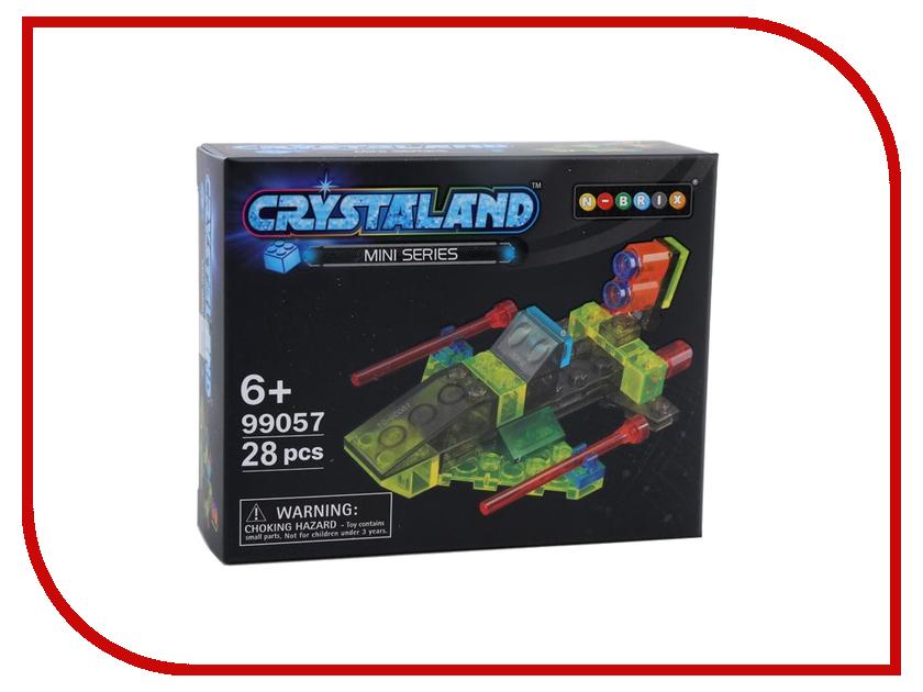 Конструктор Crystaland SHGS006 Космическая Яхта 28 дет
