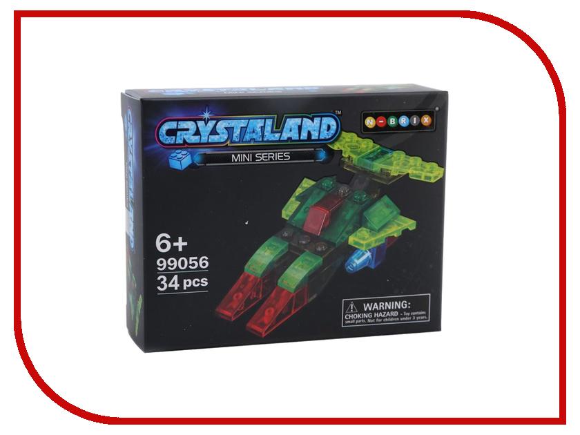 Конструктор Crystaland SHGS007 Космический корабль 34 дет