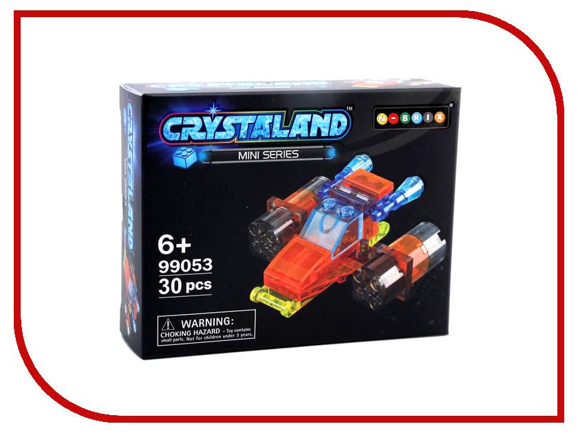 Конструктор Crystaland SHGS010 Шатл 30 дет конструктор crystaland shg006 истребитель 4 в 1 67 дет