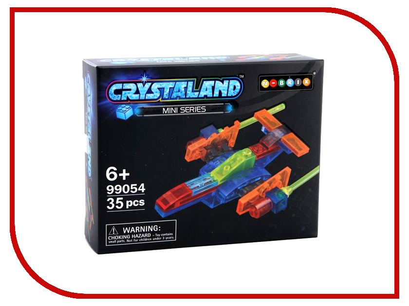 Конструктор Crystaland SHGS009 Звездный корабль 35 дет